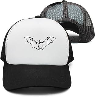 56619dc1 Eoyles Bat Contour Adjustable Size Sunscreen Hat Fitted Cap Pattern Unisex  Bucket-Hats