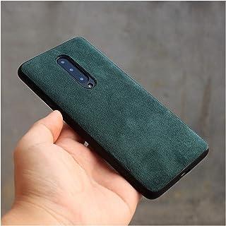 防水防塵 OnePlus 8 Pro 7T 7 6T 6ケースファッション高級事業人工レザー電話ケースカバー電話ケース (Color : Black, Size : For OnePlus 7T Pro)