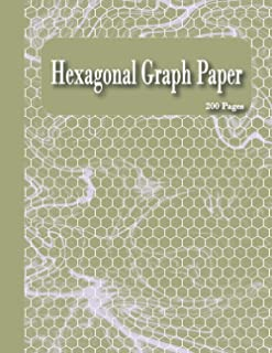 Hexagonal Graph Paper for Organic Chemistry: Blank Hex Notebook for Organic Chemistry - Hexagonal Graph Paper with 200 Pag...