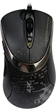 A4 Tech F4 V-Track PC Mouse, PC/Mac, Built-in Storage Capability, 2 Ways