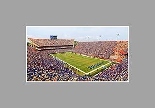 ArtsyCanvas Florida - College Football Stadium - 36x20 Matte Poster Print Wall Art