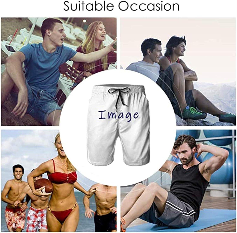Knsoiv Mens Beach Shorts Cool Beachwear Pants Beach Pants
