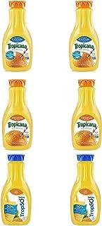 LUV BOX - Variety Tropicana Pure Premium Juice Pack 52oz Plastic Bottle, 6 Per Case Calcium Orange Juice , Original Orange Juice , Trop 50 Orange Juice