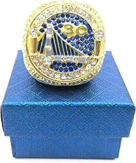 Fantasy Carnival Basketball Warriors Championship Ring Replica 2018 Size 9-14