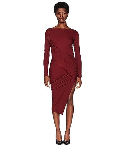 Vivienne Westwood Long Sleeve Vian Dress (Vino) Women
