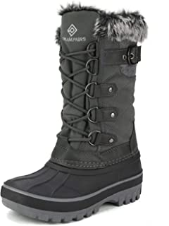 DREAM PAIRS Kids Insulated Waterproof Winter Snow Boots