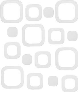 Vosarea 6 St/ücke 3D rutschfeste Badewanne Aufkleber Pad Matte Sicherheit Wasserdicht Abnehmbare Badewanne Aufkleber Dusche Aufkleber f/ür Bad Wc