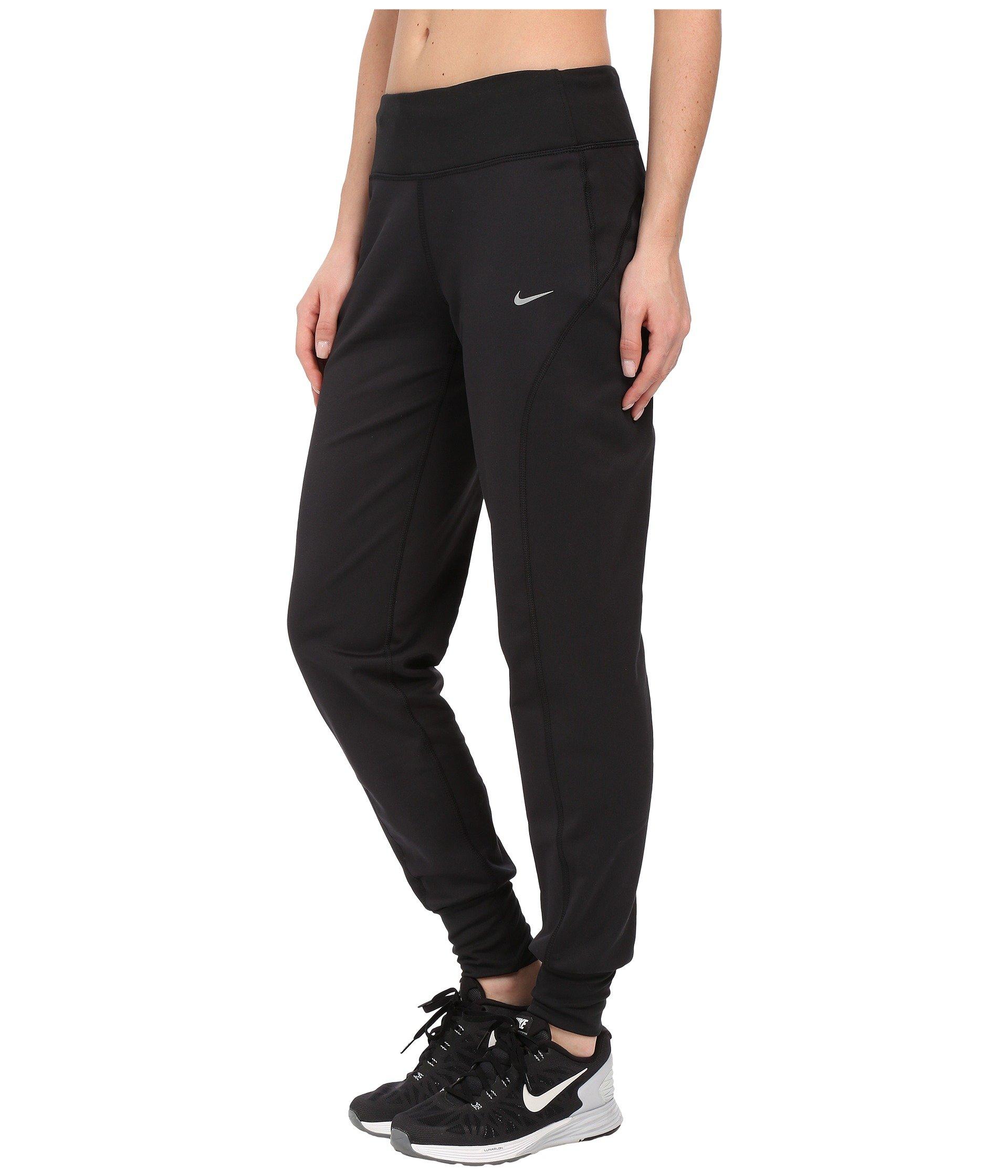 Brilliant Amazon.com  Nike Womenu0026#39;s Thermal Running Tights/Pants 547605-010 Black-Grey Small [S ...