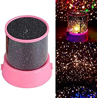 Katech Baby Night Light Projector, Star Night Lamp for Kids Children Bedroom, 3 LED Bulbs with USB Cable