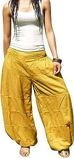 Salwar Harem Pants Elastic Waist Aladdin Style for Women & Men