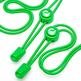 RJ-Sport Elastic Shoe Laces - Quick to Install No tie Shoelaces for Kids and Adults