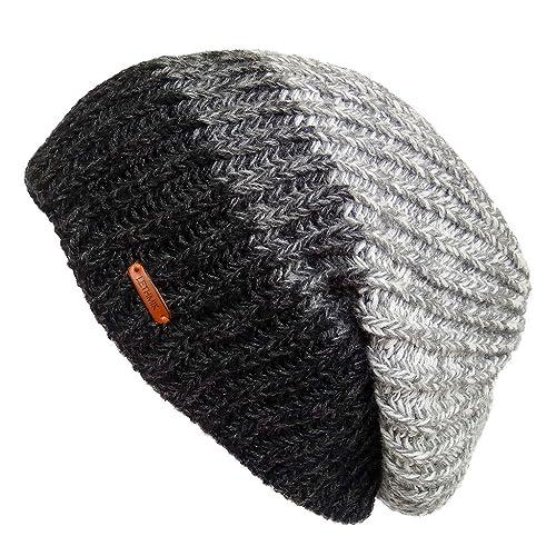 LETHMIK Unique Winter Skull Beanie Mix Knit Slouchy Hat Ski Cap for Men    Women 1222df040db