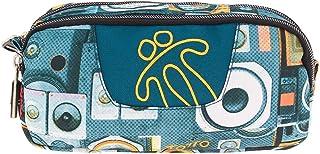 TOTTO Estuches Escolares, Dos Cremalleras, Varios Colores Y Estampados - Pencil Cases, 20 cm, Multicolour (Multicolor)