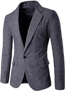 Saoye Fashion Chaqueta para Hombre De Pana De Algod/ón De Pana De Moda Ropa para Hombre Chaqueta De Abrigo Chaqueta De Hombre De Corte Slim Chaqueta Casual Blazer