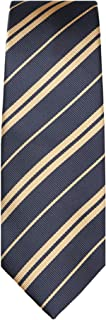 Jacob Alexander Woven Double Stripe Boys' Prep Neck Tie