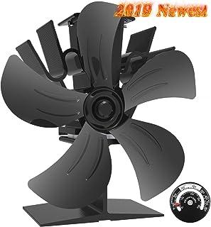 Ventilador de Estufa -Ventilador Estufa de 5 Palas