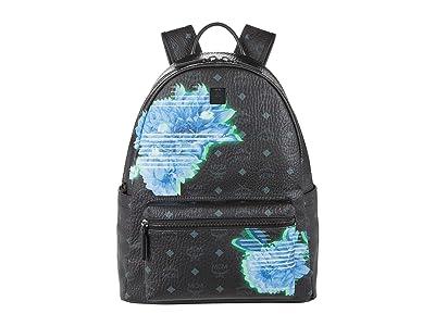 MCM Stark Tech Flower Backpack Medium