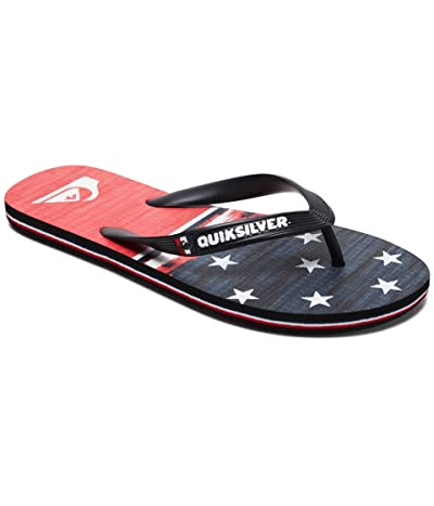 Quiksilver Molokai 4th of July (Black/Blue/Red) Men