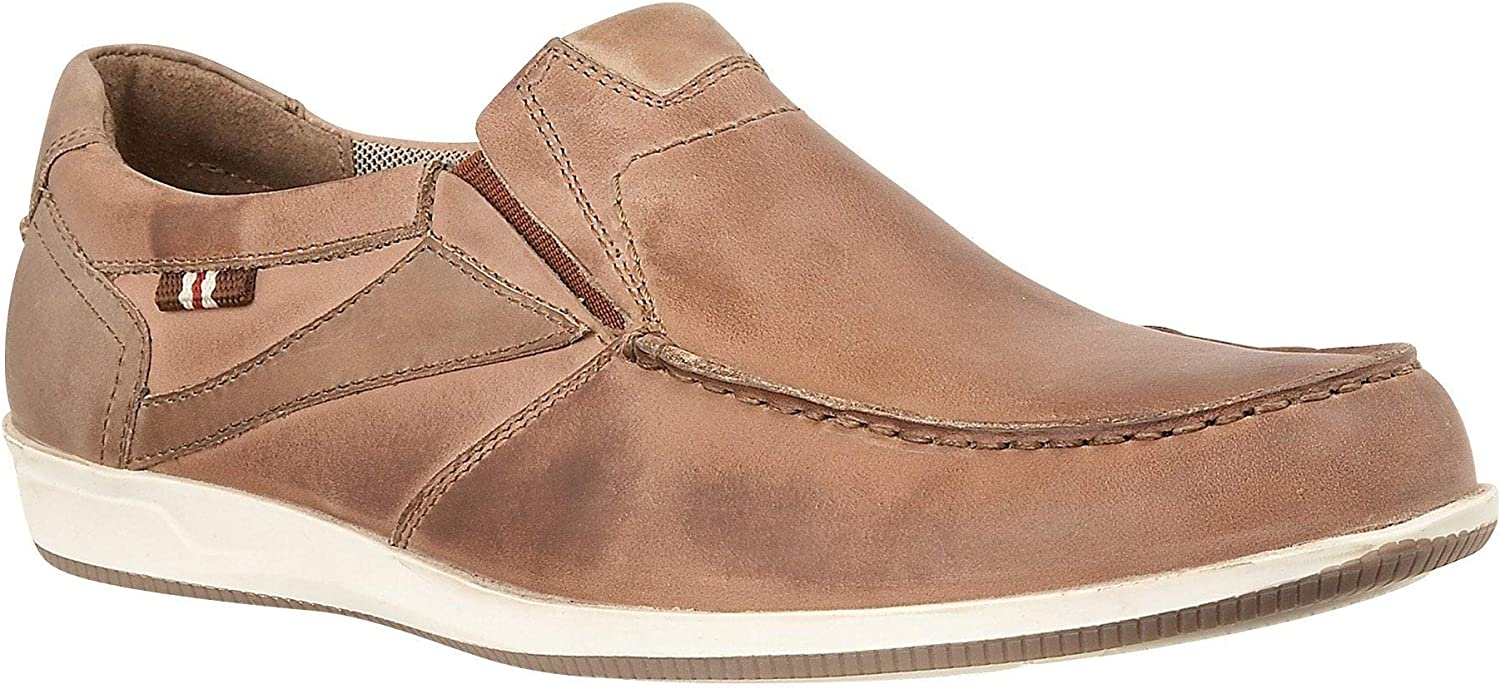 Lotus Moore Tan Leather Slip On Casual shoes