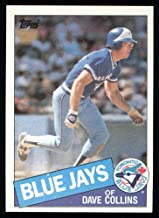 1985 Topps # 463 Dave Collins Toronto Blue Jays (Baseball Card) Dean's Cards 8 - NM/MT Blue Jays