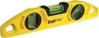 Stanley 0-43-603 Nivel Torpedo FatMax magnético, 230 mm, 25cm