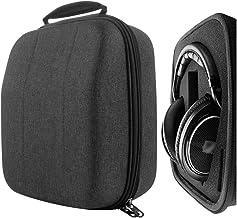 Geekria UltraShell Headphone Case for AKG K361, K371, K167, K540, Beyerdynamic DT880pro, DT990, Sennheiser HD599, HD598CS, HD280PRO, HD650 Headphones, Replacement Large Hard Shell Travel Carrying Bag