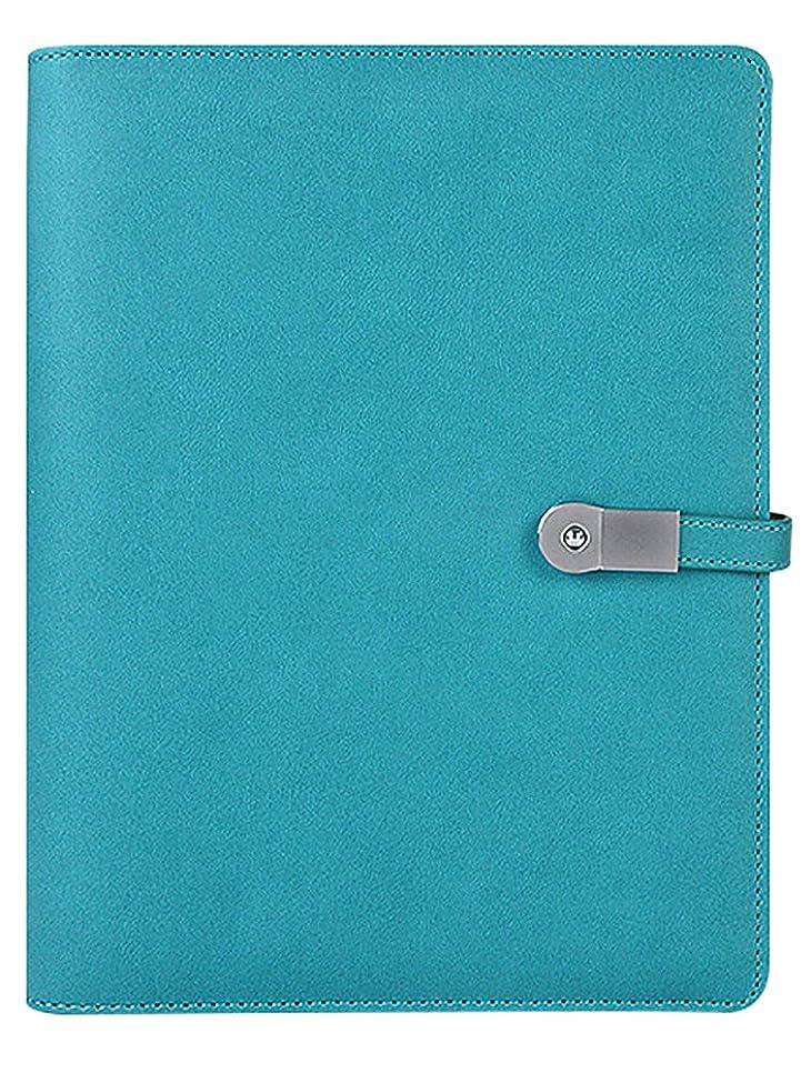 扱うブラウス長さ[ノーブランド品] カジュアル 機能的 軽量 手帳 A5 ブルー