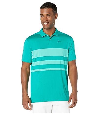Nike Golf Dry Vapor Polo Stripe (Neptune Green/Neptune Green) Men