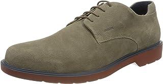 Geox U Raffaele B, Zapatos de Cordones Derby Hombre