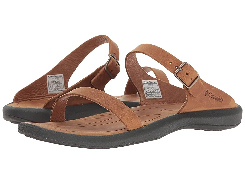 Columbia Caprizee Slide Nubuck (Elk/Dark Grey) Women