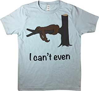 Spirit Animal Zoo Tired Sloth I Can't Even T-Shirt