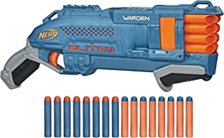 Nerf Elite 2.0 Warden DB-8 Blaster, 16 Official Nerf Darts, Blast 2 Darts At Once, Tactical Rail For Customizing Capabilit...