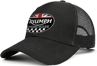 Hats Unisex Man's Classic Cap Adjustable Mesh Visor Baseball Hat