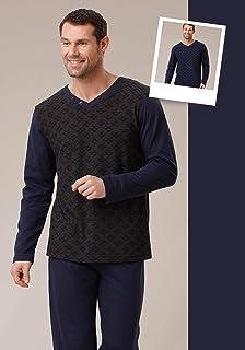 Aqua 18715 Uzun Kol Erkek Pijama Takımı