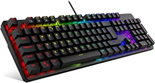 TECWARE PHANTOM Teclado mecánico RGB 105 UK QWERTY Brown Switch.