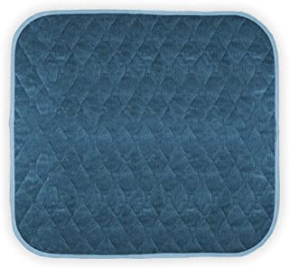 """Americare Absorbent Washable Waterproof Seat Protector Pads 21""""x22"""" - Blue"""