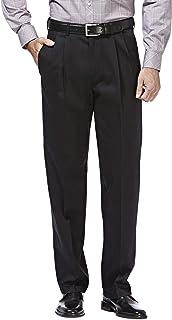Men's Premium No-Iron Classic-fit Expandable-Waist...