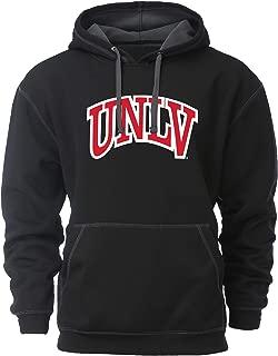 NCAA UNLV Rebels Mens Transit HoodTransit Hood, Black/Dark Grey, 2X