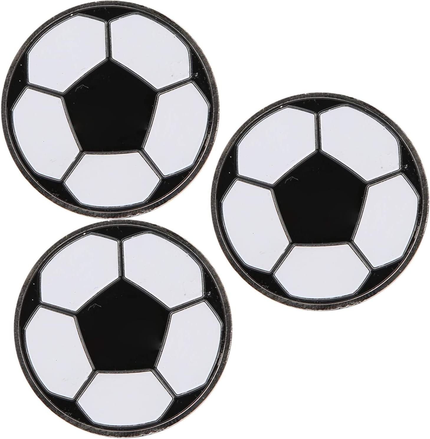 Soccer 2021new Fashionable shipping free Toss Coin 3pcs Portable Training Football Referee F Match