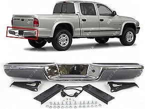 MBI AUTO - Chrome Steel, Rear Bumper Assembly for 1997-2004 Dodge Dakota Pickup 97-04, CH1103103
