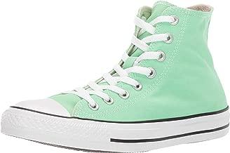 green high top sneakers
