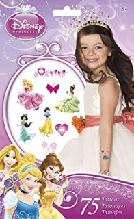 Trends International Disney Princess Tattoo Bag 75 Ct