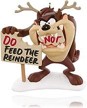 Hallmark Keepsake Ornament: Looney Tunes Feed The Reindeer Taz The Tasmanian Devil