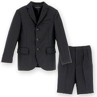 (キャサリンコテージ) Catherine Cottage 子供服 子供フォーマル 男の子 TK1103 ブラックスーツ2点セット