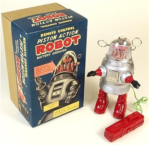 los clientes primero PYXEL PYXEL PYXEL STUDIO Tr2051 pistón de Control Remoto de acción del Robot Barro Amasado Robby, con Pilas - la reproducción de Nomura Japón Juguete plata  ordenar ahora