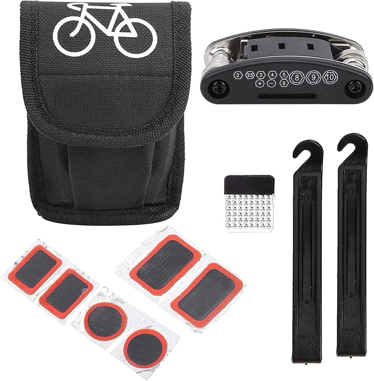 HHUPII 16 in 1 Cycling Folding Kit Multifu Max Max 75% OFF 70% OFF Tyre Tool Bike Repair