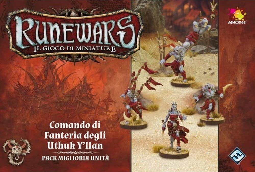 Asmodee Italia- Runewars The Expansion Mail order Miniature Command of Max 54% OFF Game
