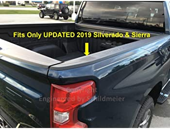 ES ENGINEERED BY SCHILDMEIER Stake Pocket Cover Set for 2019-2020 Silverado/Sierra (Set of 2)