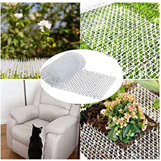 Dog Scat Mat Spike Mat Anti-Cats Network Digging Stopper Prickle Strip Home Spike Deterrent Mat For Indoor Balcony Garden ...