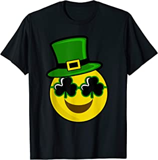 Cute Smile Emojis | St. Patricks Day Gift T-Shirt